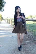 vintage skirt - shoes AHAISHOPPING shoes - tupe tank Urban Outfitters top