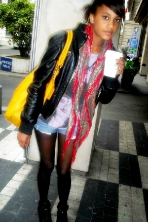 Zara scarf - Zara t-shirt - Claires accessories - h&m via thrift town jacket - t