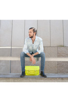 Stella Rittwagen bag - H&M boots - H&M jeans - Zara shirt