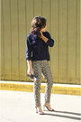 Navy-silk-new-york-and-co-shirt-heather-gray-asos-pants