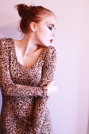 leopard H&M dress