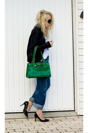 dark green  bag