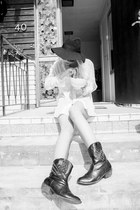 black studded cowboy Primark boots