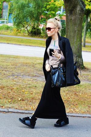 black all suit