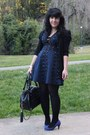 Black-chinese-laundry-tights-navy-zac-posen-for-target-dress
