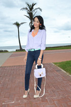 SASS DIVA necklace - Mr Price shirt - Mr Price bag