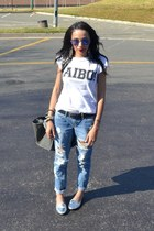 Mr Price jeans - Mr Price t-shirt - spiked Legit loafers