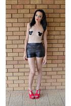 pu Smooch shorts