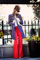 Red, White and Polka all over