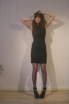 black preen dress - black All Saints shoes