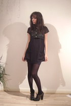 mjm top - Topshop dress - M by MJ shoes