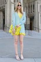 aquamarine Jason Wu for Target cardigan - yellow Luluscom dress