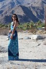 Blue-lovers-and-friends-dress