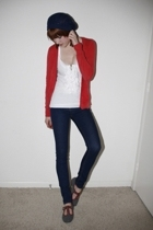 sweater - top - jeans - f-troupe shoes