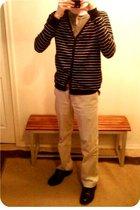 Zara top - Urban Planet sweater - Gap pants - Dexter shoes