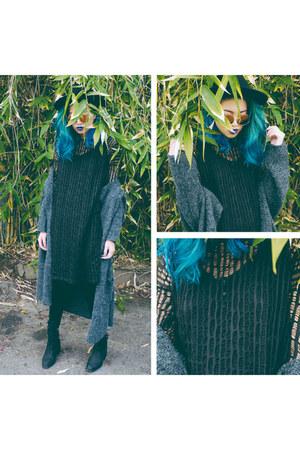 THE VII WINTER CARDIGAN cardigan - THE DESTROYER dress