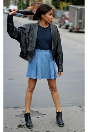 blue Primark skirt