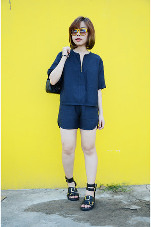 Broochie blouse - Broochie shorts