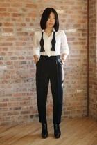 31 phillip lim lim pants - Uniqlo shirt - steven alan tie