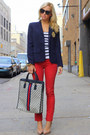 Rich-skinny-jeans-ralph-lauren-blazer-vintage-gucci-bag