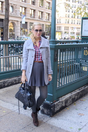 romeo & juliet sweater - Forever 21 shirt - H&M tights - Zara shoes - DIY skirt