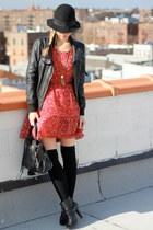 Zara jacket - H&M dress