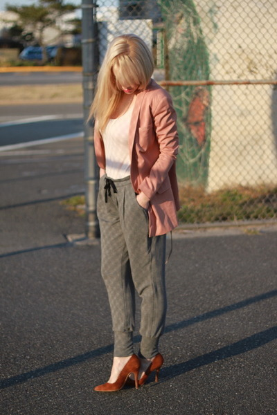 H&M jacket - James pants - Zara shoes