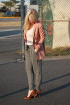 H&M jacket - James pants - Zara shoes