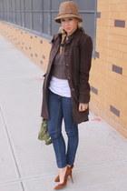 H&M jeans - Zara shoes - vintage hat