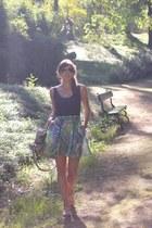 green organza Eleonora Carisi x Zalando skirt