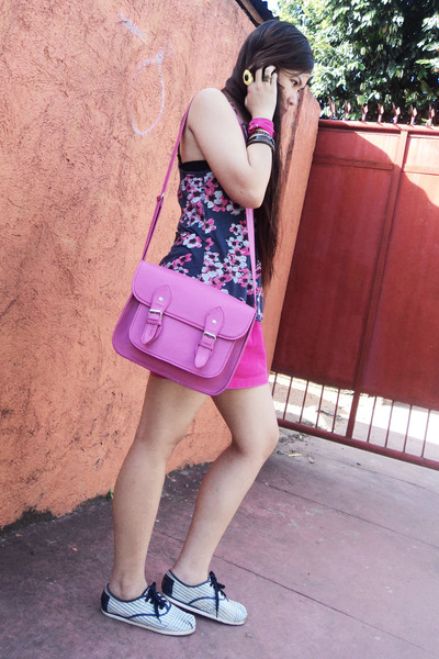 hot pink Shoppe Unli bag - hot pink Primadonna Clothing skirt