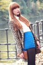 Blue-zara-bag-camel-mango-coat-blue-studded-blue-omighty-shorts