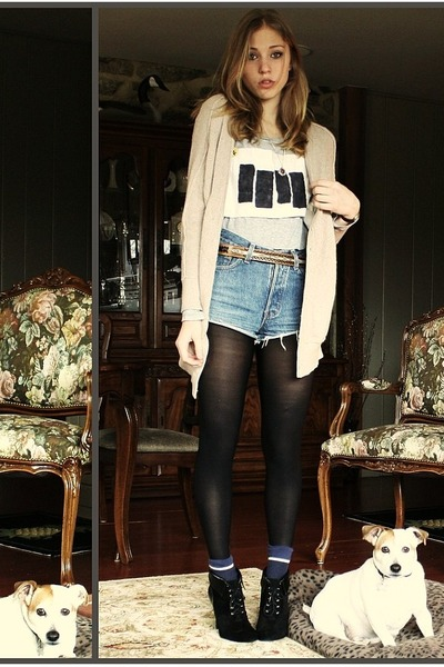 blue Levis shorts