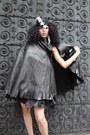 Leather-betsey-johnson-cape
