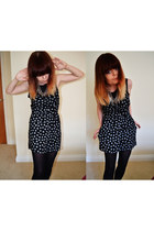 black heart playsuit Primark bodysuit