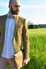 Dark-khaki-zara-blazer-white-ovs-shirt-tan-cj-creations-pants
