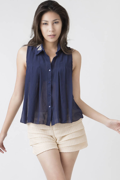 navy ClubCouture blouse
