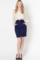 wavy shirt ClubCouture shirt - ClubCouture shoes - ClubCouture skirt