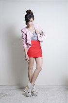 Red-bodycon-skirt-clubcouture-skirt