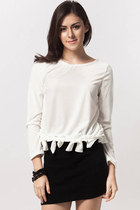 Santiago Ribbon Hem Top