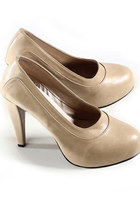 beige ClubCouture shoes
