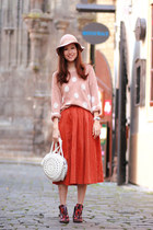 Orange-clubcouture-skirt