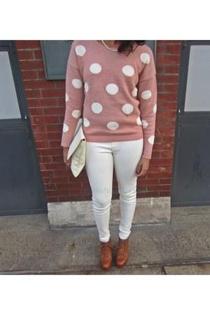 sweater - HUE leggings