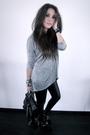 Silver-h-m-sweater-black-zara-boots-black-zara-purse-black-topshop-pants