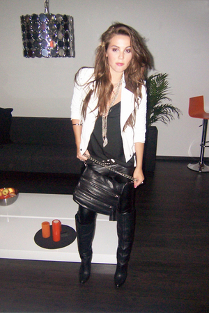 Zara jacket - Zara pants - Zara boots - Zara