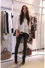 Black-ankle-boots-cos-boots-white-sheer-zara-blouse-black-leather-look-topsh