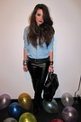 Black-zara-belt-black-topshop-pants-black-zara-boots-blue-zara-blouse