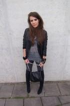 Zara jacket - Zara boots - Zara t-shirt - Only jeans - Zara