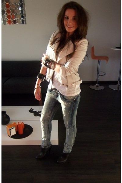 Zara jacket - Bershka jeans - Zara boots