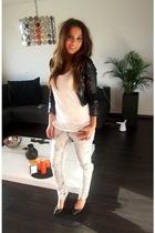 H&M pinklabel jacket - Ebay jeans - Bershka